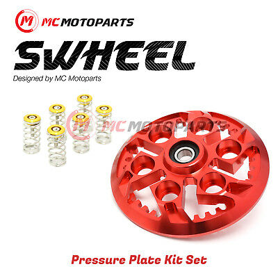 For Ducati Monster S4 S4R S4RS 1000 RED Swheel Pressure Plate GOLD Springs Kit