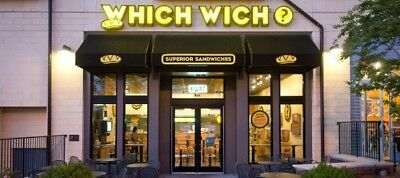 Which Wich $50 Gift Card