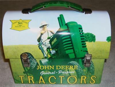 2011 Collectible - John Deere Tin Carryall - Lunchbox - New Old Stock  (L)