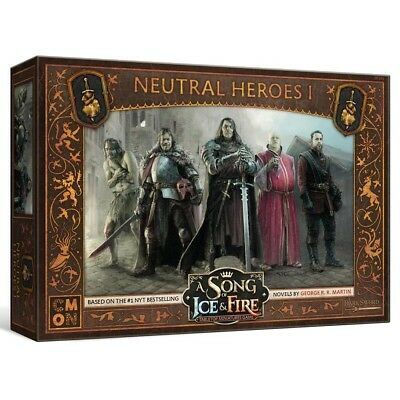 A Song of Ice & Fire TMG - Neutral Heroes #1