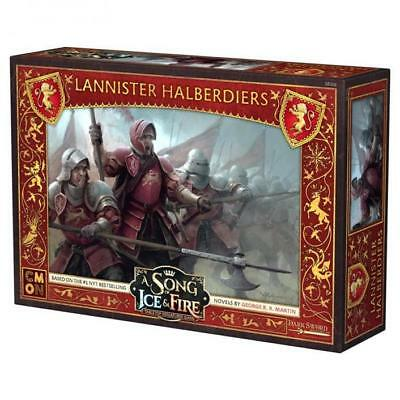 A Song of Ice & Fire TMG - Lannister Halberdiers