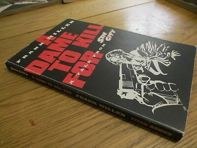 sin city a dame to kill for graphic novel frank miller