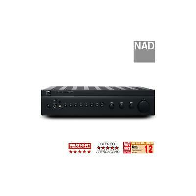 NAD C326BEE Stereo Vollverstärker Amplifier 2x 50Watt Graphite PowerDrive S + FB