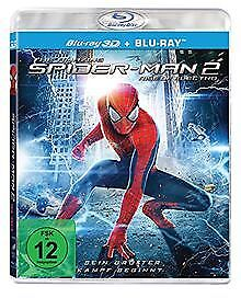 The Amazing Spider-Man 2: Rise of Electro (3D + 2D V... | DVD | Zustand sehr gut