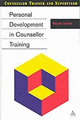 Personal Development in Counsellor Training (Counsellor Trainer & Supervisor), J