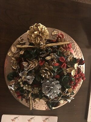 Pot Pourri M And S With Cooper Plate 😀😍