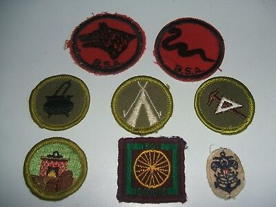 Selection  Of Usa Boy Scout Badges