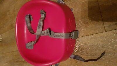 Bumbo Booster Seat With Straps