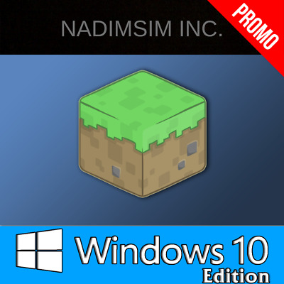 Minecraft Windows 10 Edition PC CD Key, (No BOX, Activation Key Only)