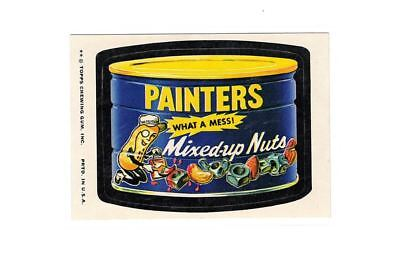 1974 Topps Wacky Packages Planter's Painters Mixed Up Peanuts 10th Series 10 EX+