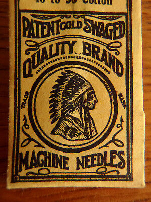 Antique Sewing Machine Needles 2 Pack Native American Quality Brand
