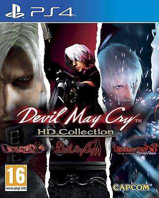 DEVIL MAY Cry HD Collection (PS4) BRAND NEW SEALED DEVIL MAY Cry