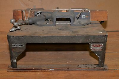 Quality Foster cast iron router table extra guide bench top vintage woodworking