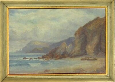 John Laviers Wheatley (1892-1955) - Early 20th Century Oil, Coastal Landscape