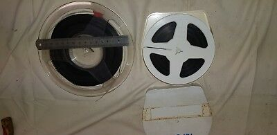 2x Standard 8mm Cine Films Amerture Early 1960's Seaside and party