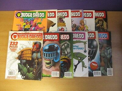 The Complete Judge Dredd Comics Job Lot