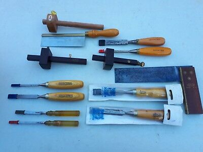 A Job Lot of Likely New & Unused Vintage Woodworking Tools By Quality Makers