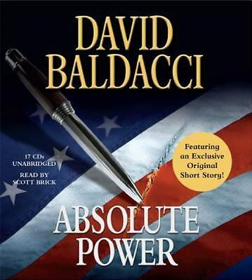 Absolute Power by David Baldacci (2010, CD, Unabridged)