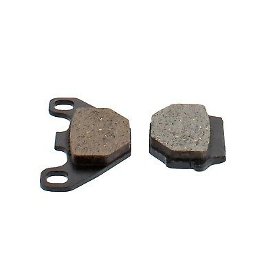 Rear Organic Brake Pad Set for 1995 KTM EXC 440