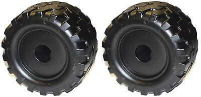 2 Pack Power Wheels B7659 or B7659-9993 Jeep Wrangler Restage Replacement Wheel