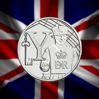 YEOMAN WANDER 2018 Uncirculated Royal Mint Alphabet A to Z New 10p Ten Pence