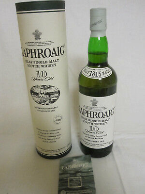 Laphroaig Islay Single Malt Scotch Whisky  10 Jahre