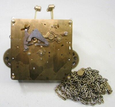 Vintage Emperor Hermle 451-050 Chiming Grandfather Clock Movement Parts