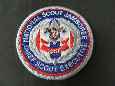 2001 National Jamboree Chief Scout Executive Patch      c57