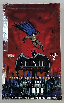 1993 Topps Batman The Animated Series 2 Factory Sealed Box (B)