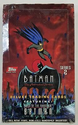 1993 Topps Batman The Animated Series 2 Factory Sealed Box
