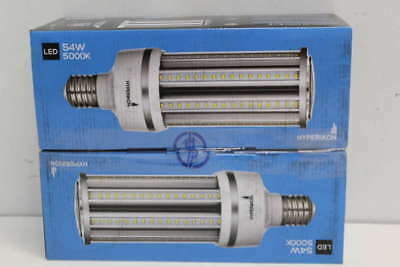 Lot of 2- Hyperikon LED Corn Bulb 5000K