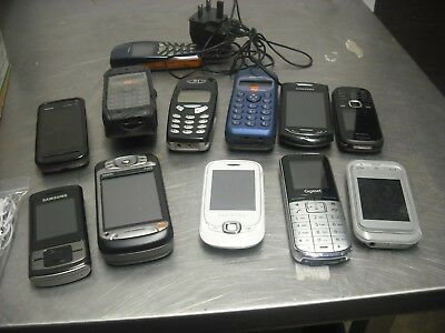 Mobile Phone Job Lot x 12 UNTESTED