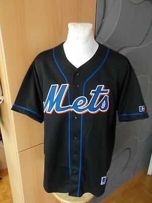 Russell Athletic New York Mets Vaughn Mlb American Baseball Vintage Shirt Jersey