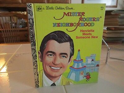 Mister Rogers' Neighborhood by Fred M. Rogers Little Golden Book 1974/1975