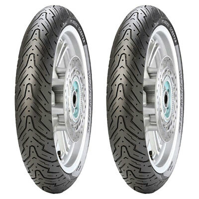 Tyre Set Pirelli 80/100-10 46J + 120/70-12 51P Angel Scooter