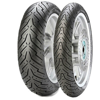 Tyre Set Pirelli 100/90-14 57P + 120/70-12 51P Angel Scooter