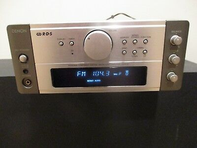 Denon Rds Udra-M7 Tuner Amplifier Personal Component System Am/fm Amp Works!