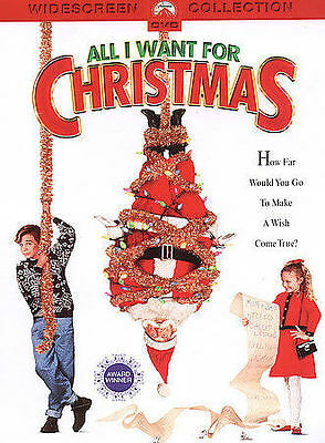 ALL I WANT FOR CHRISTMAS (DVD, 2004, Widescreen Collection) NEW