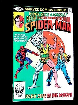 Peter Parker, The Spectacular Spider-Man. King-Size Annual #3. 1981. Vf/nm (9.0)