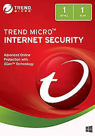 Trend Micro Internet Security 2018 1 PC 12 Months License. SWIFT DELIVERY