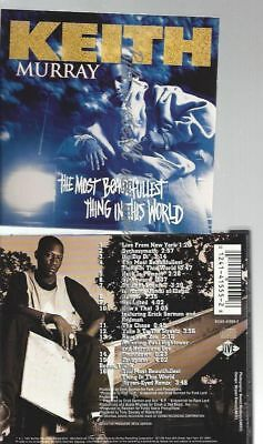 Cd--Keith Murray--    The Most Beautifullest Thing