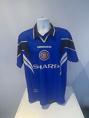 Ultra Rare Manchester United 1996/97 Third Shirt