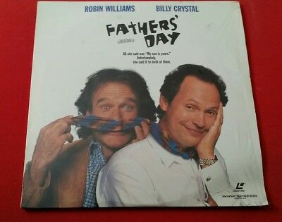 Father's Day - Robin Williams Billy Crystal Laserdisc Comedy 1997 Ivan Reitman
