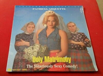 Holy Matrimony - Patricia Arquette Laserdisc New Sealed Comedy Letterbox USA