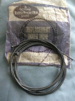 A Genuine Vintage Lambretta Replacement Throttle Inner Wire No 0015031