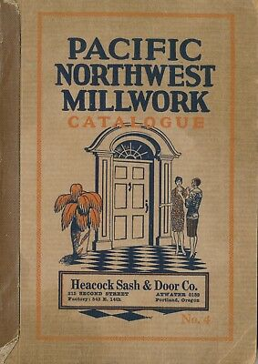 1927 Pacific NW Millwork Catalogue, Stained Glass Windows, Doors, 130pp. Illust.