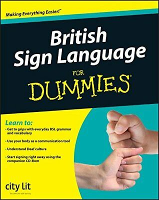 British Sign Language For Dummies by City Lit Cent-City Lit Centre for the Deaf