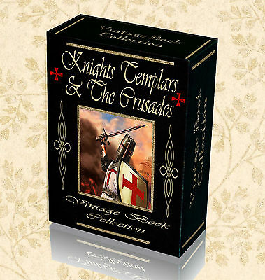 140 Knights Templar Books on DVD - The Crusades Catholic Military Orders 270