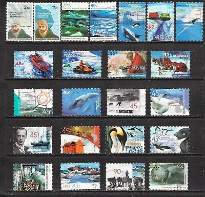Australian Antarctic Territory Stamps  All Different  Used