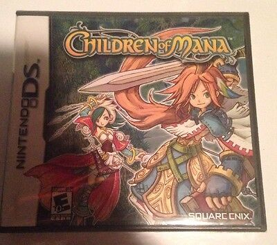 Children of Mana (Nintendo DS, 2006) Brand New Factory Sealed
